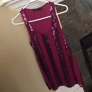 The Limited Sparkly Sequin Tank Top